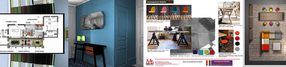 MS Architecture interieur - Architecte interieur, decorateur interieur, meuble contemporain, mobilier design